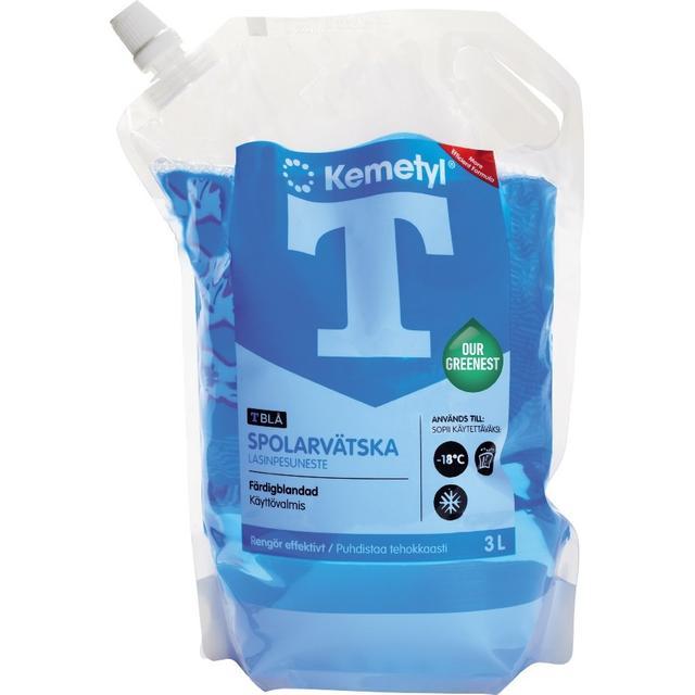 Kemetyl T-Blå 3L Spolarvätska