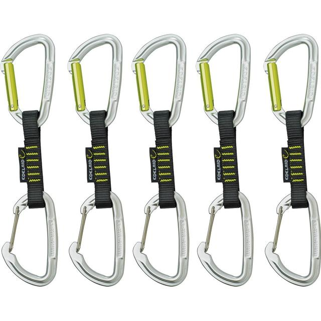 Edelrid Slash Wire Set Quickdraw 10cm 5-pack
