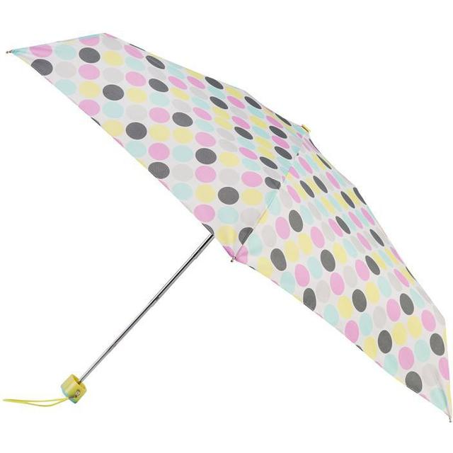 Totes Miniflat 5-Section Umbrella Big Paradise Dot (8072OLS)