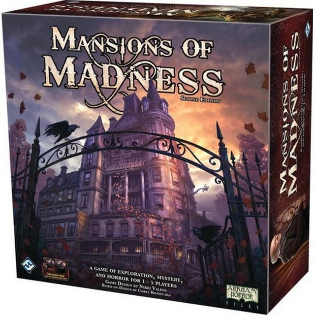 Fantasy Flight Games Mansions of Madness: Second Edition