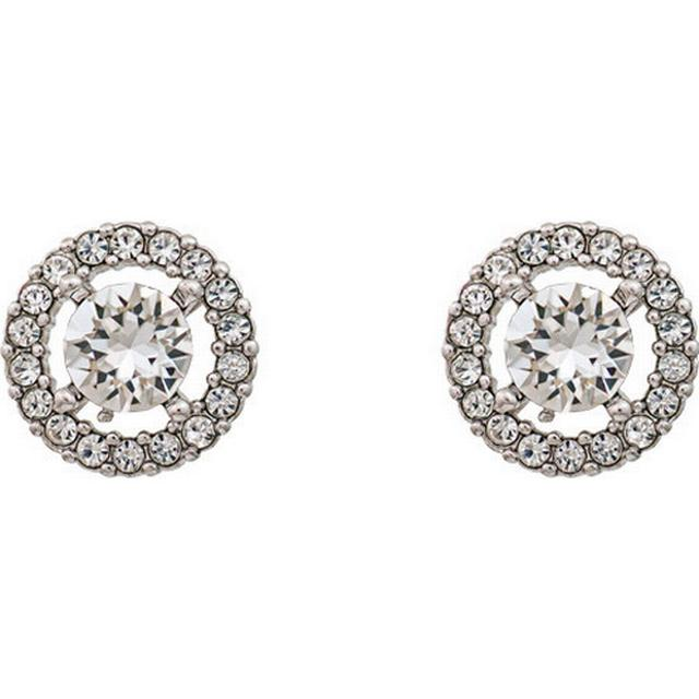 Lily and Rose Miss Miranda Brass Earrings w.Transparent Crystal - 1.1cm (60732)