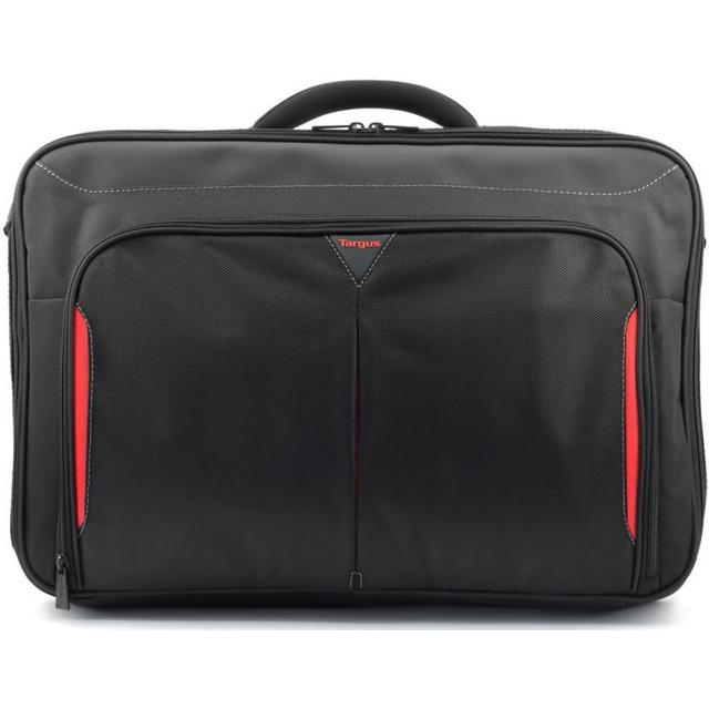 "Targus Classic+ Clamshell 17-18"" - Black/Red"