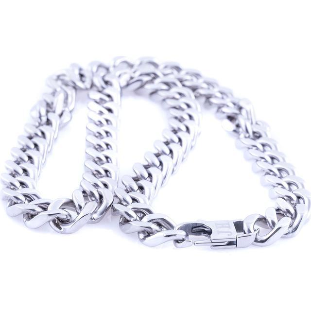 Moskva Inox Steel Silver Necklace - (HMa17100-OS)