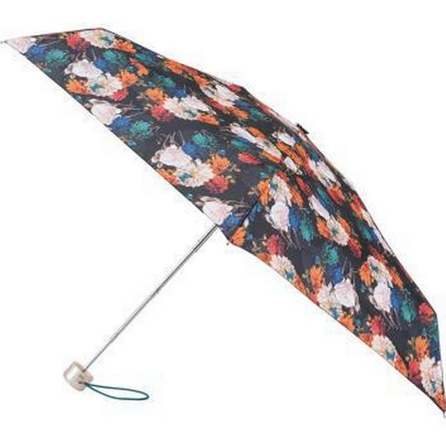 Totes Mini Round 5-Section Umbrella Photographic Floral (8063KLF)