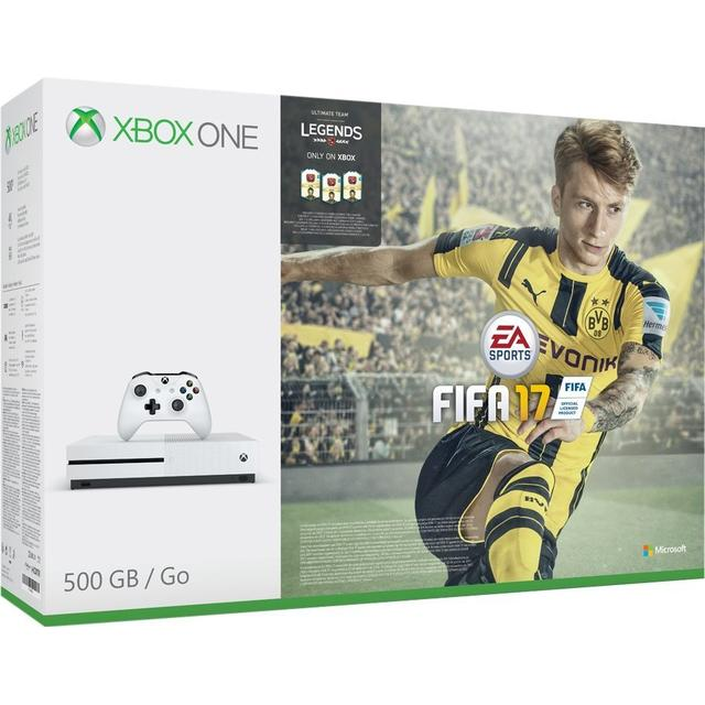 Xbox One S 500GB - FIFA 17 • Se pris (1 butiker) hos ...