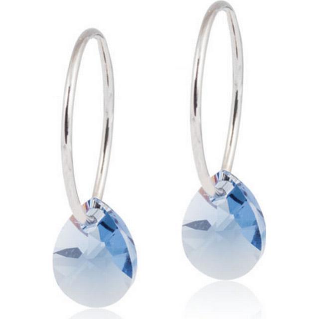 Blomdahl Skin-Friendly medical Titanium Earrings w. Swarovski Crystals - 0.8cm (15‑1249‑06)