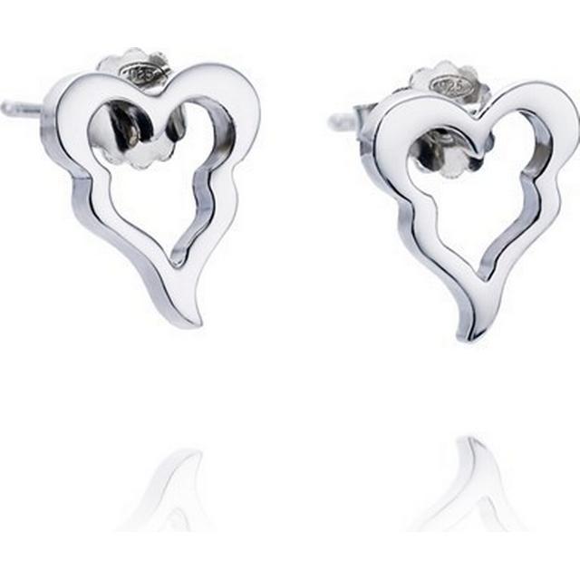 Efva Attling Crazy Heart Silver Earrings (12-100-00317-0000)