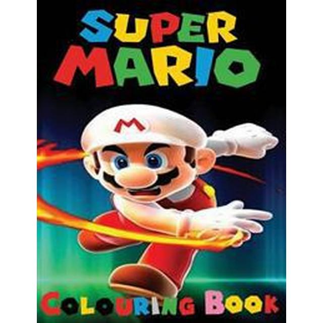 Super Mario Colouring Book: This A4 45 Page Colouring Book for Kids Has Fantastic Images of the Characters from Super Mario for You to Colour. (Häftad, 2016)