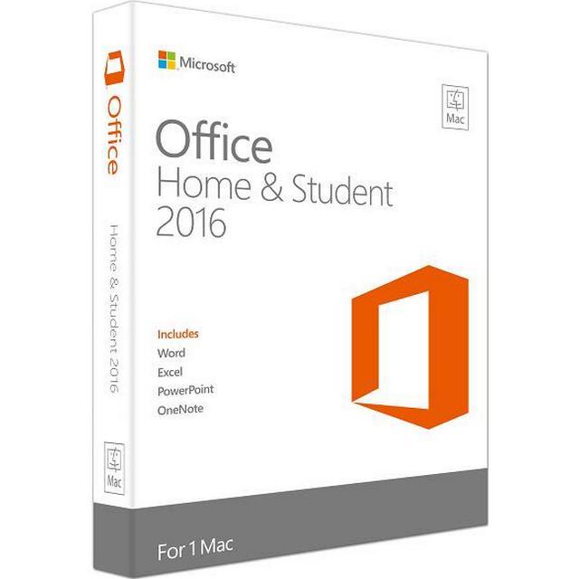 Microsoft Office Mac Home & Student 2016 MUI