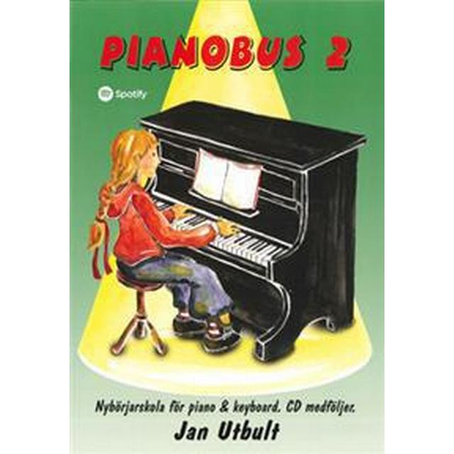 Pianobus 2: nybörjarskola för piano & keyboard (Häftad, 2015)