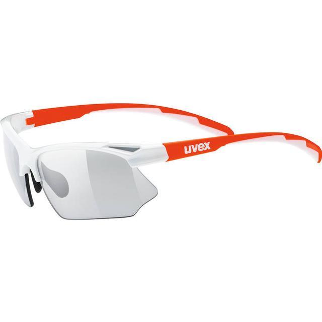 Uvex Sportstyle 802 V White Orange