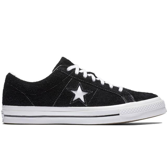 Converse One Star Premium Suede - Black/White/White