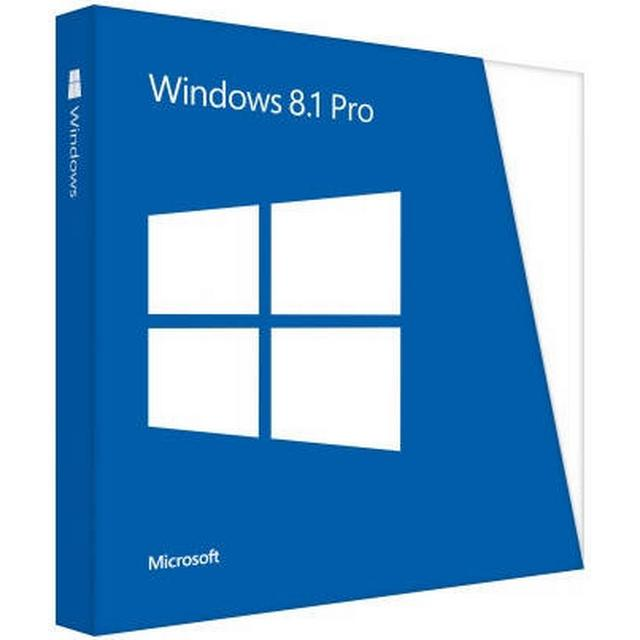 Microsoft Windows 8.1 Pro English (64-bit Get Genuine)