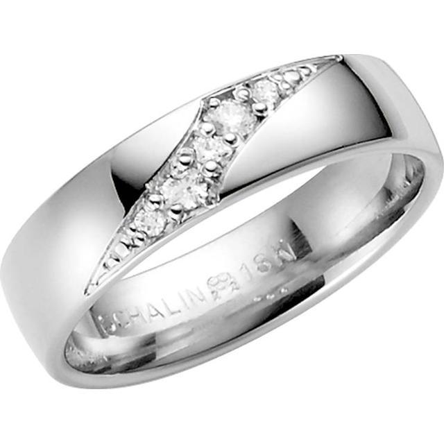 Schalins Stjärnfall Libra White Gold Ring w. Diamond
