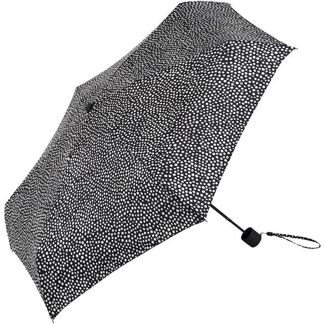 Marimekko Pirput Parput Mini Manual Umbrella Black/White (038655)