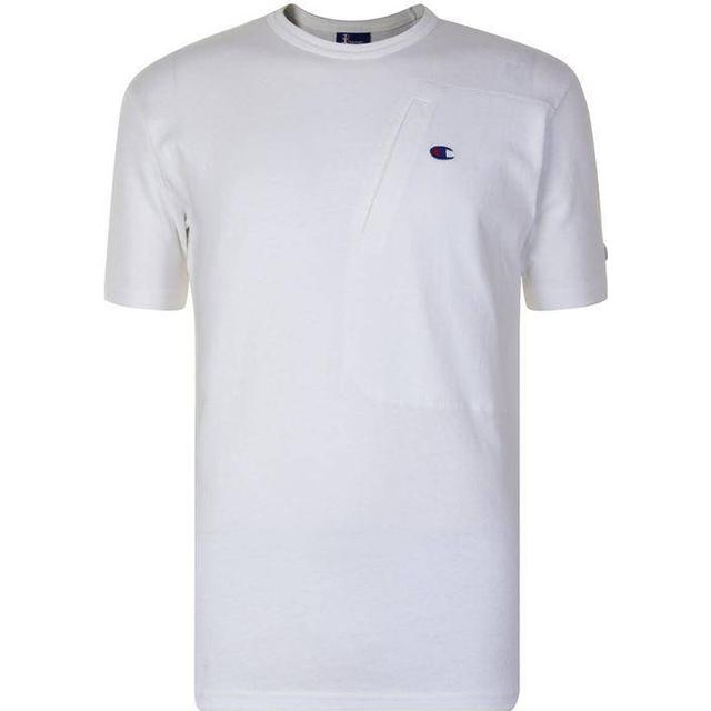 Champion X Beams Asymmetric Pocket T-shirt White