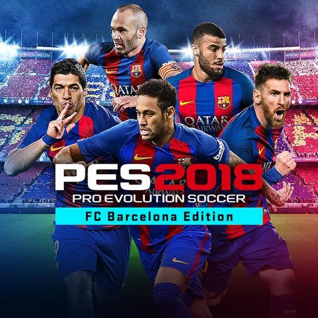 Pro Evolution Soccer 2018 - FC Barcelona Edition