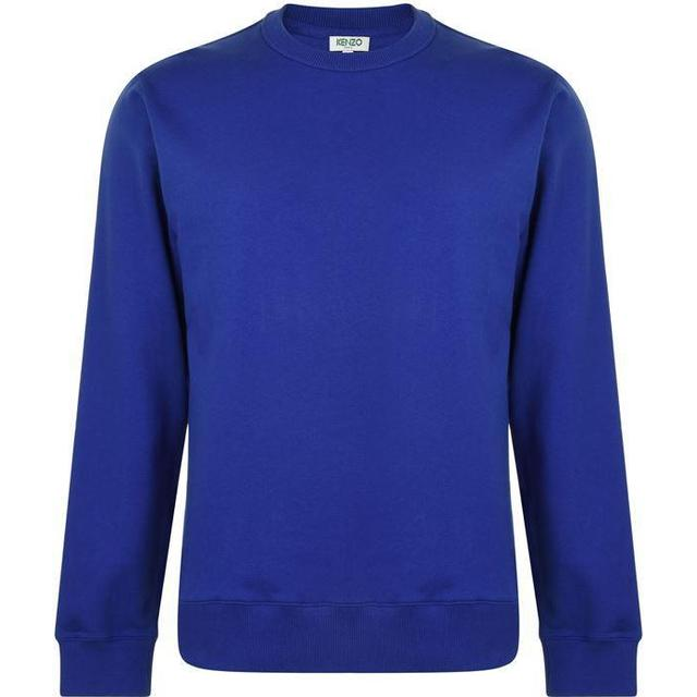 Kenzo Logo Sweatshirt French Blue