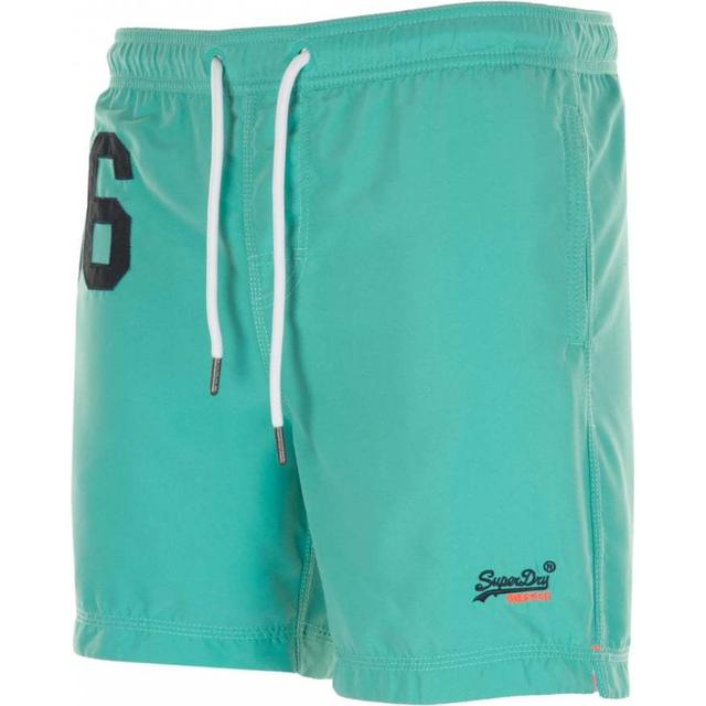 Superdry Waterpolo Swim Shorts Poolside Aqua