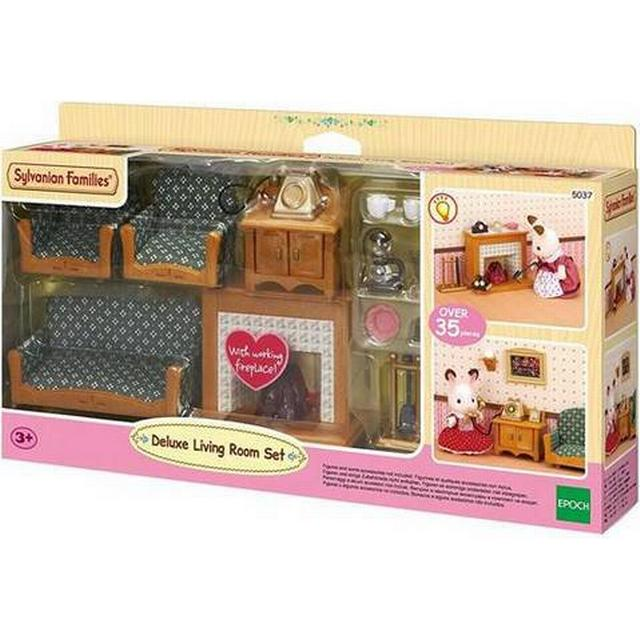 Sylvanian Families Deluxe Living Room Set • Se priser (3 ...