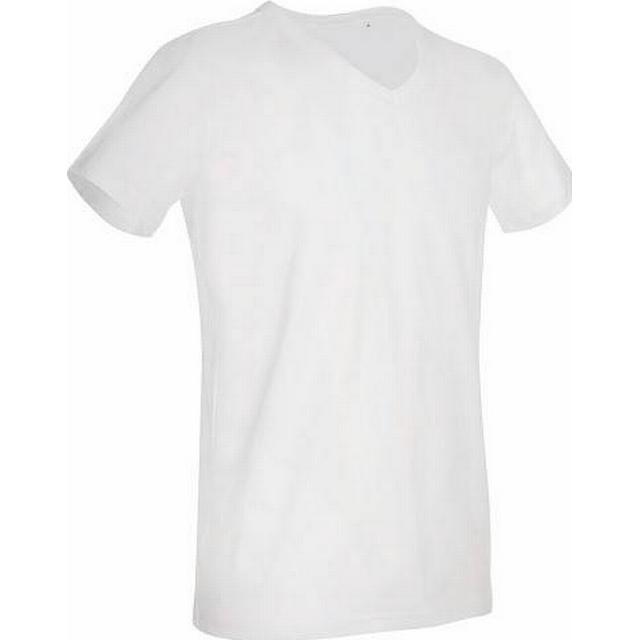 Stedman Ben V-neck T-shirt - White