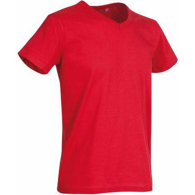 Stedman Ben V-neck T-shirt - Crimson Red