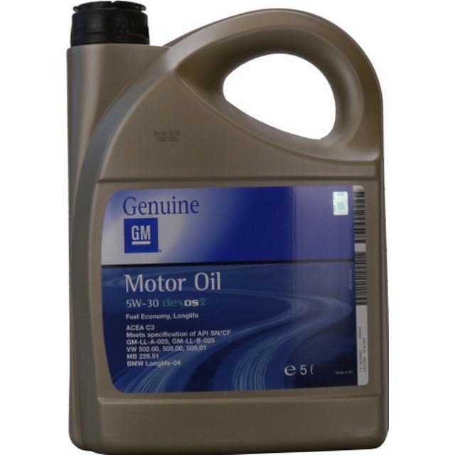 GM Opel 5W-30 Dexos 2 Fuel Economy Longlife 5L Motorolja
