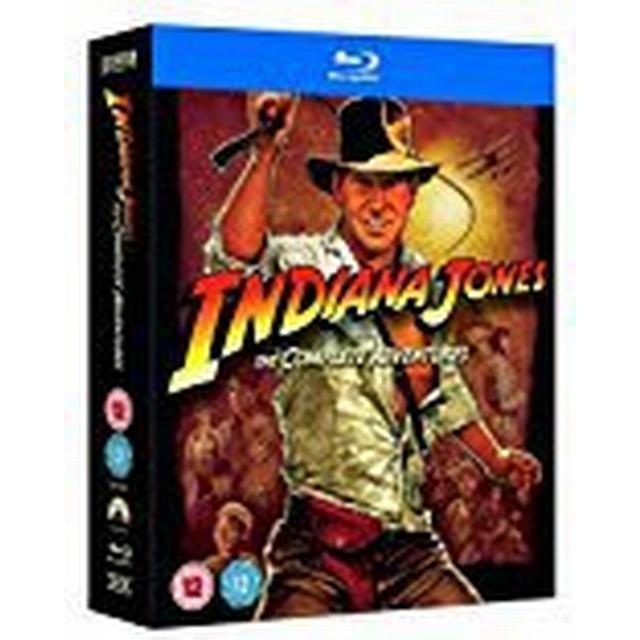 Indiana Jones - The Complete Adventures Quadrilogy (Blu-Ray)