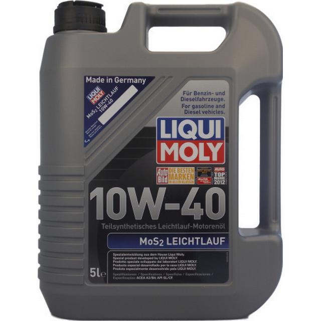 Liqui Moly MoS2 Leichtlauf 10W-40 5L Motorolja