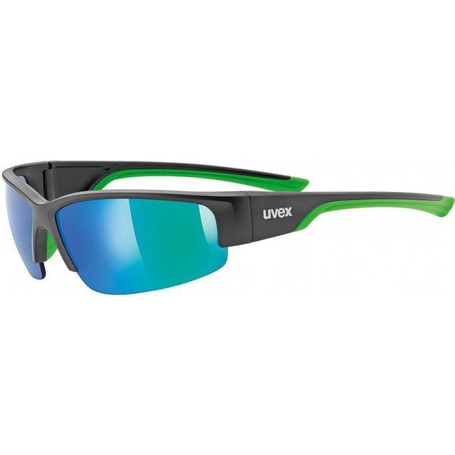Uvex Sportstyle 215 Black Mat Green