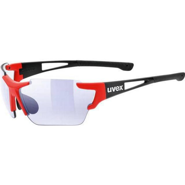 Uvex Sportstyle 803 Race VM Black Red Mat