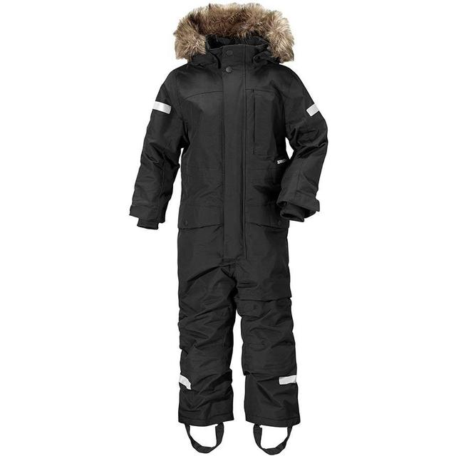 Didriksons Kid's Björnen Coverall - Black (501845-060)