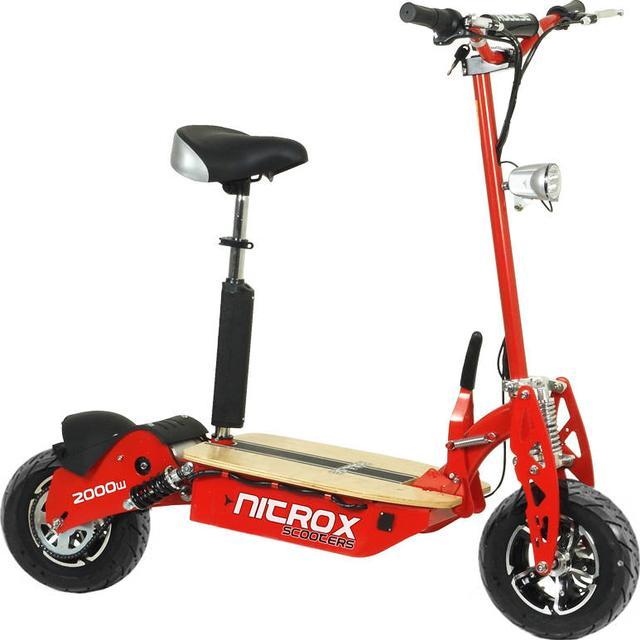 Rull Elscooter Nitrox 2000W 60V Borstlös Race Edition