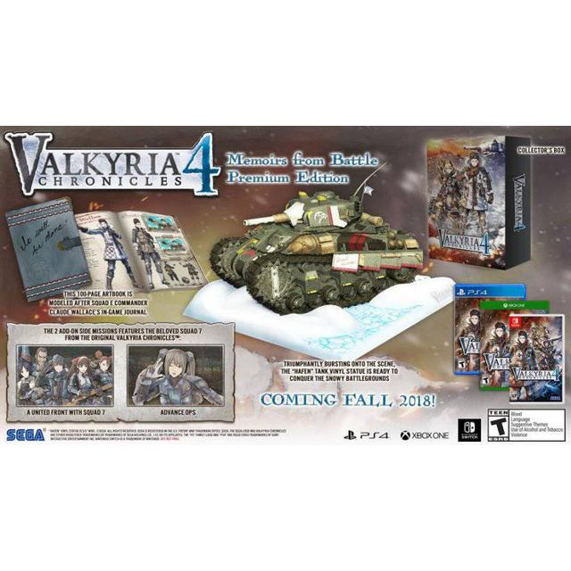 Valkyria Chronicles 4: Memoirs From Battle - Premium Edition