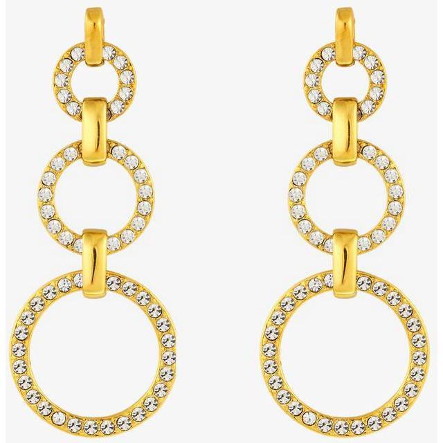Dyrberg/Kern Neema Stainless Steel Earrings w. Crystal (351630)
