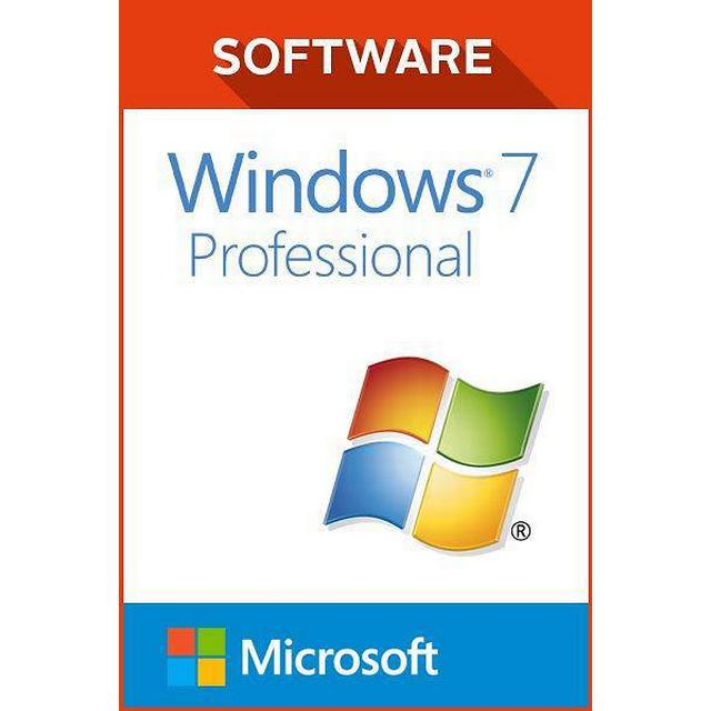 Microsoft Windows 7 Professional SP1 Swedish (32-bit OEM ESD)