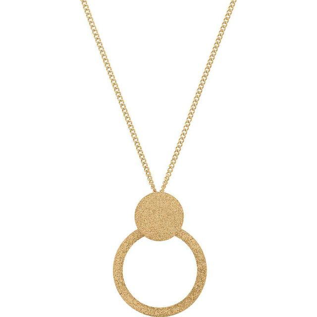 Edblad Valerie Sparkle Stainless Steel Gold Plated Necklace (109308)