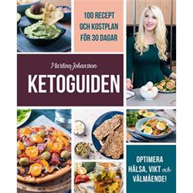 Ketoguiden: 100 recept och kostplan för 30 dagar