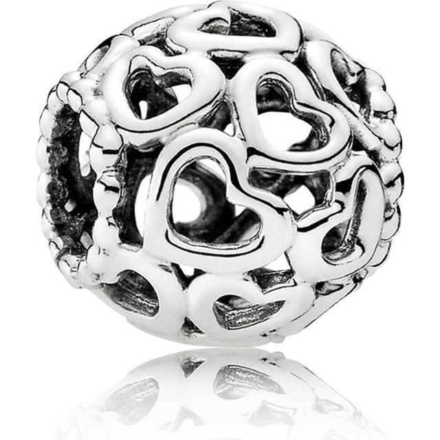 Pandora Openwork Heart Silver Charm (790964)