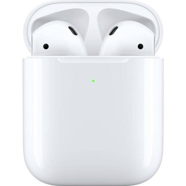 Apple AirPods med trådlöst laddningsetui (2019)