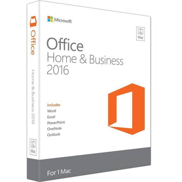 Microsoft Office Mac Home & Business 2016 English