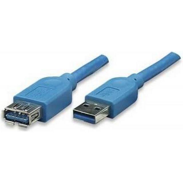 Techly USB A-USB A 3.0 M-F 3m