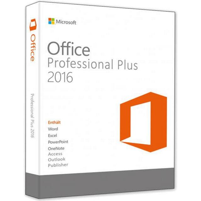 Microsoft Office Professional Plus 2016 Danish