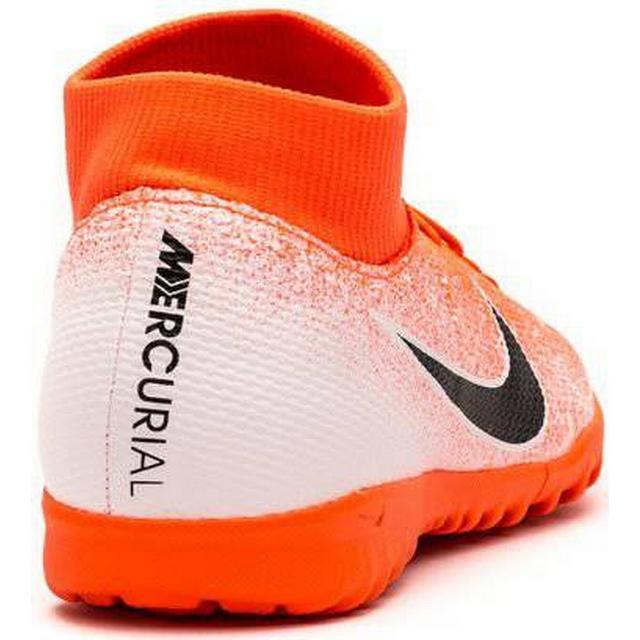 Nike SuperflyX 6 Academy TF M Hyper CrimsonWhiteMetallic SilverBlack