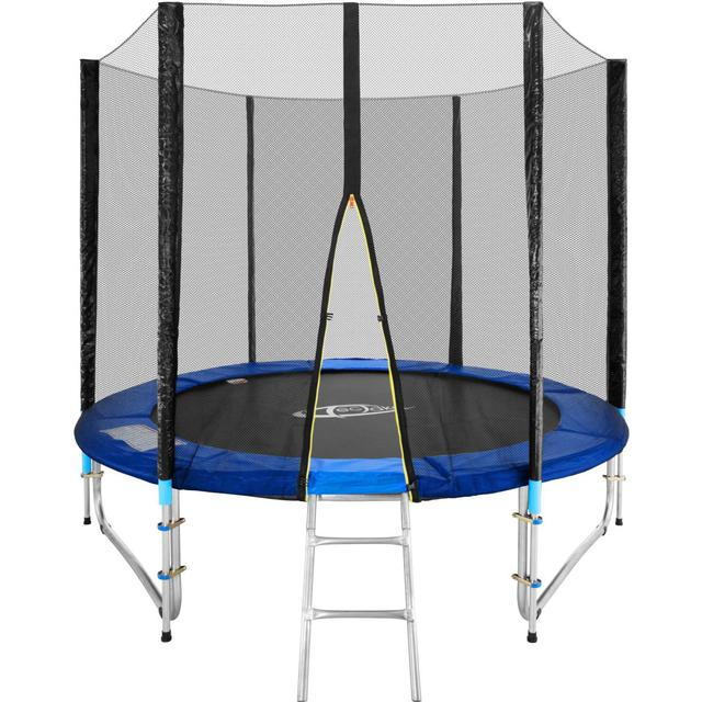 tectake Trampoline 244cm + Safety Net