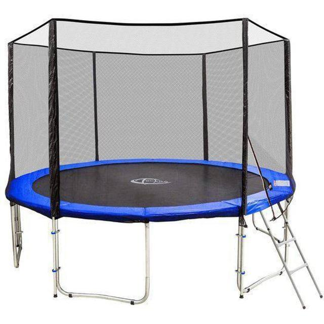 tectake Trampoline 427cm + Safety Net