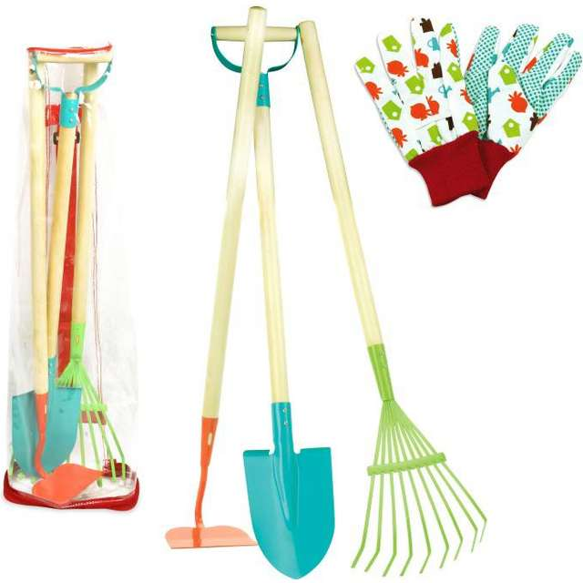 Vilac Large Garden Tools Set