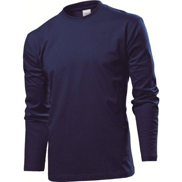 Stedman Comfort Long Sleeves T-shirt - Navy Blue