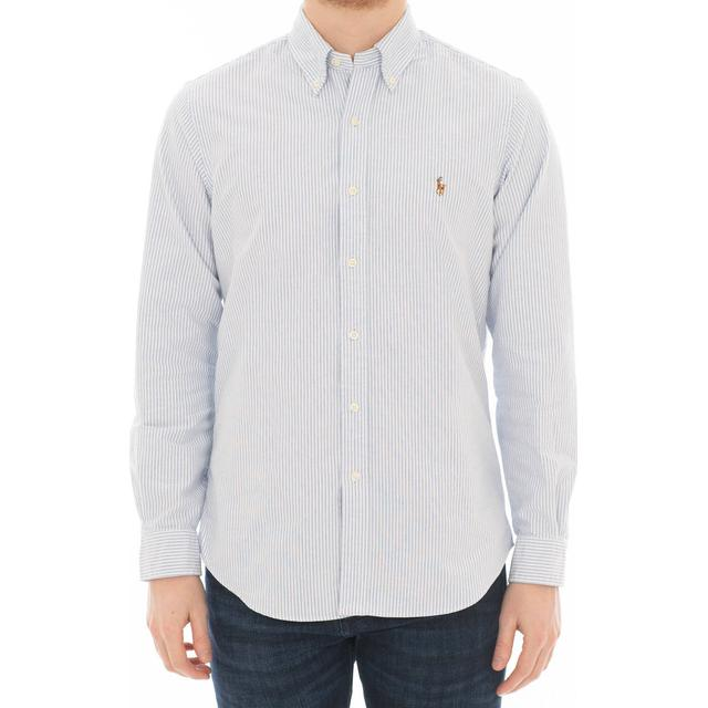 Polo Ralph Lauren Classic Fit Oxford Shirt - Blue/White
