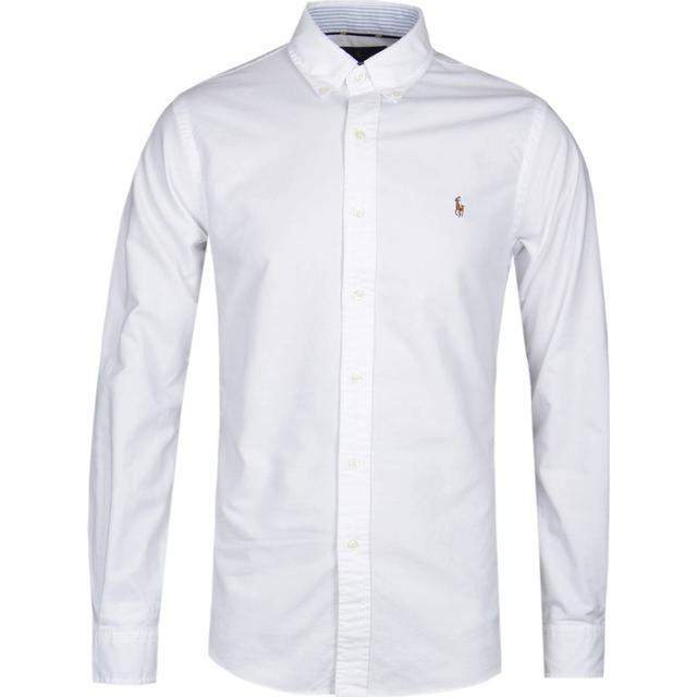 Polo Ralph Lauren Slim Fit Oxford Shirt - White